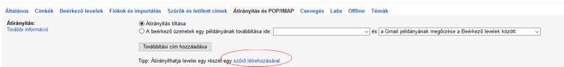 V-ado gmail beállítás 2
