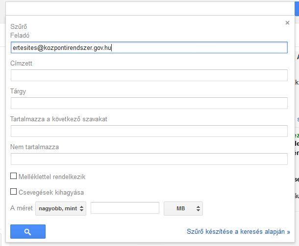 V-ado gmail beállítás 3