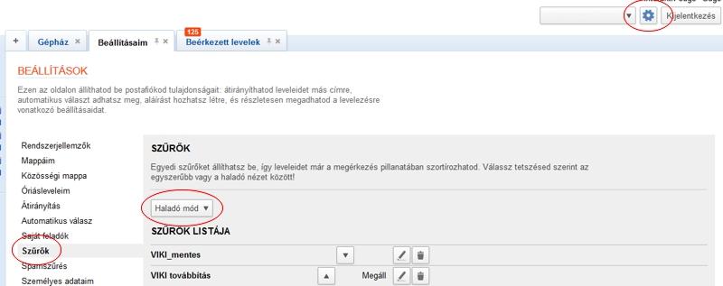 VIKI freemail átirányítás 1